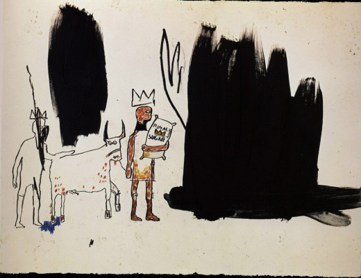 Jean-Michel Basquiat. The inhabitants of the marshes