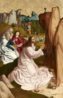 Рюланд Фрюауф Старший. Христос на Масличной горе