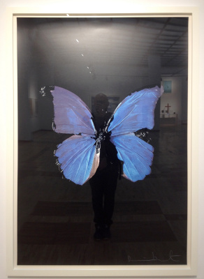 Damien Hirst. Butterfly