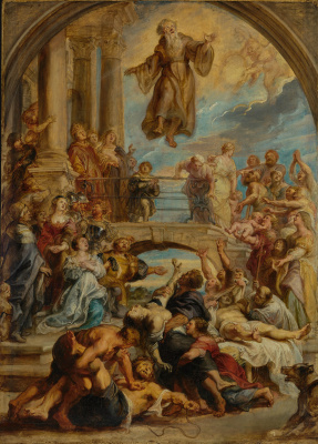 Peter Paul Rubens. The Miracles of Saint Francis of Paola