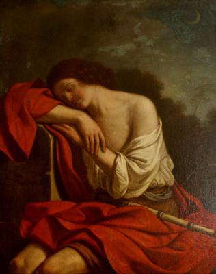 Giovanni Francesco Guercino. Sleeping Endymion