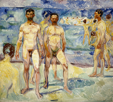 Edvard Munch. Bathers