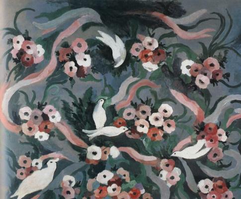 Мари Лорансен. Цветы и птицы