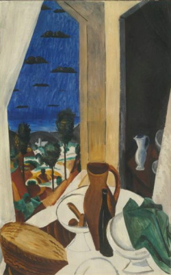 Andre Derain. The table by the window