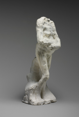 Auguste Rodin. The old woman with folded hands. Etude