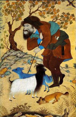 Riza-yi-Abbasi. Shepherd.