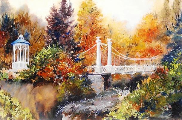 Lydia Lee. The hanging bridge. Ufa