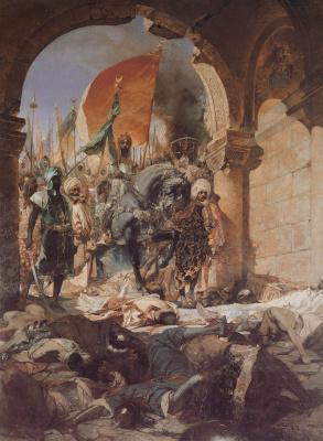 Жан-Жозеф Бенжамен-Констан. Вступление Магомета II в Инопле