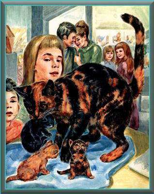 Мардж Опиц Буридг. Кошачье искусство 2