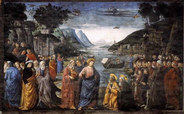 Доменико Гирландайо. Призвание апостолов Андрея и Петра