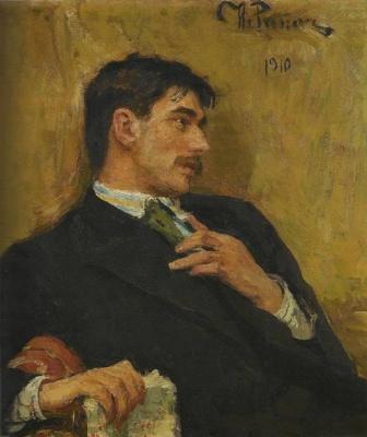 Ilya Efimovich Repin. Portrait Of Kornei Chukovsky
