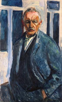 Эдвард Мунк. Автопортрет с руками в карманах