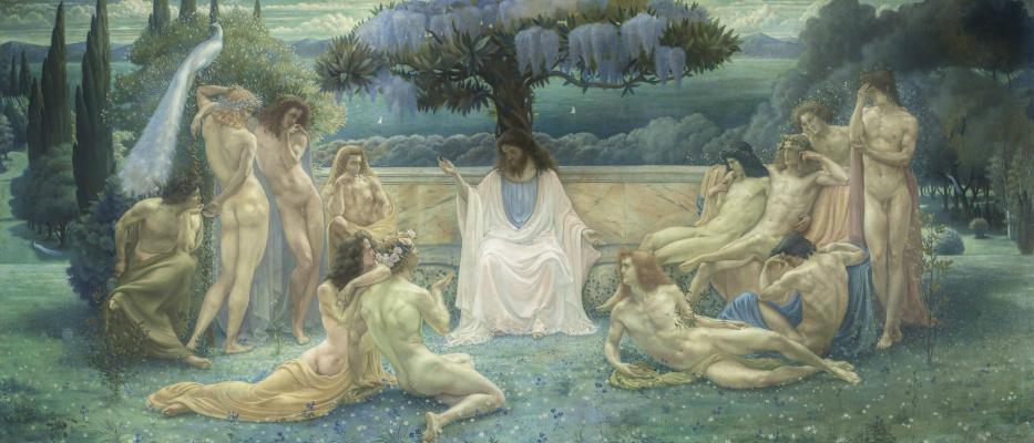 Жан Дельвиль. School of Plato