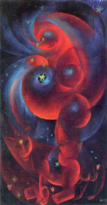 Otto Dix. Pregnant woman