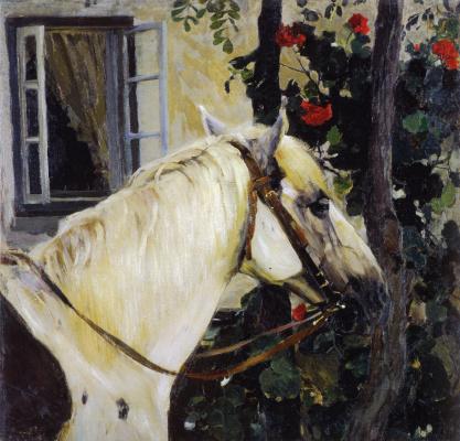 Mikhail Vasilyevich Nesterov. Horse head