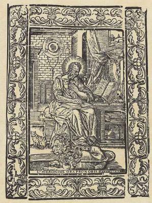 Пере Абадаль. Святой Иероним
