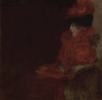 Gustav Klimt. The woman in the chair