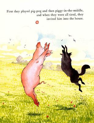 Хелен Охенбуру. Три маленьких волчонка и большой плохой свин 9