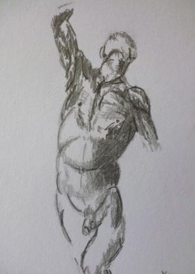 Sergei Nikolayevich Khodorenko-Zatonsky. Sketch