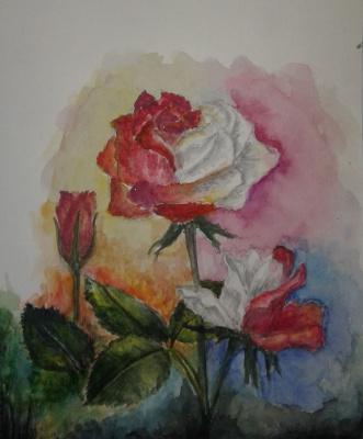 Julia Sergeevna Bochkareva. Roses