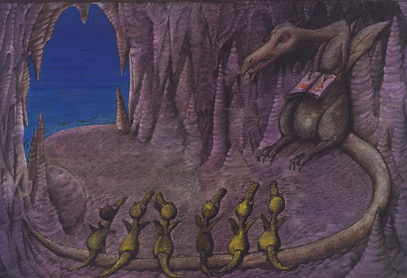 Питер Сис. Маленькие драконы