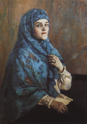 Василий Иванович Суриков. Портрет княгини П.И. Щербатовой