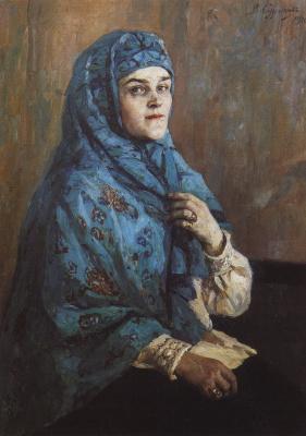 Vasily Ivanovich Surikov. Portrait of Princess P. I. Scherbatova