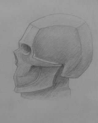 Zina Vladimirovna Parisva. Skull No. 2