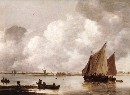 Jan van Goyen. Bay Of Haarlemmermeer