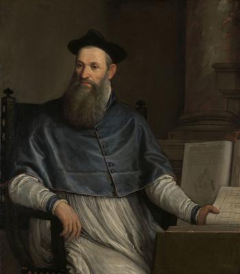 Paolo Veronese. Portrait of Daniel Barbaro