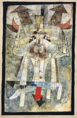 Paul Klee. The Wild Man