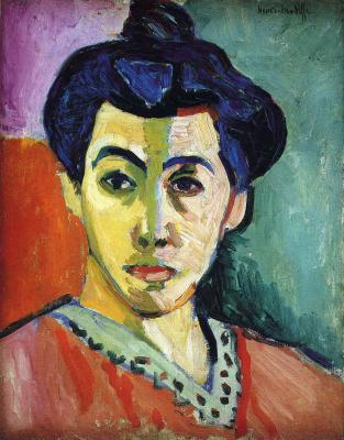 Henri Matisse. Madame Matisse