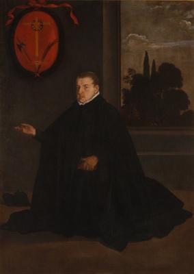 Diego Velazquez. Portrait of don cristóbal suárez de Ribera