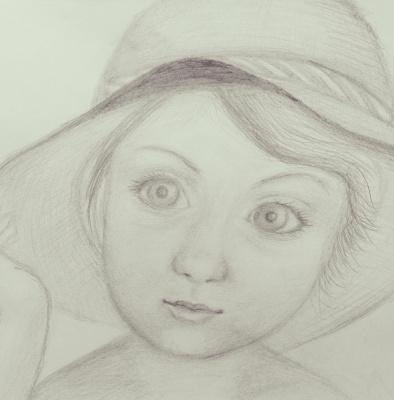 Девочка, похожая на меня))