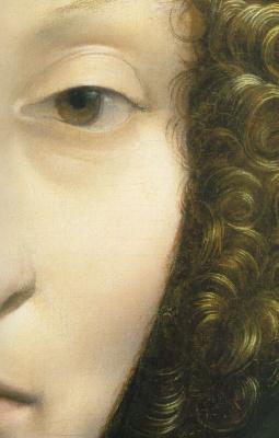 Leonardo da Vinci. Portrait of Ginevra benci a (fragment)
