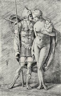 Jacopo de Barbary. Mars and Venus