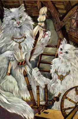 Адриенн Сегур. Принцесса-кошка 02