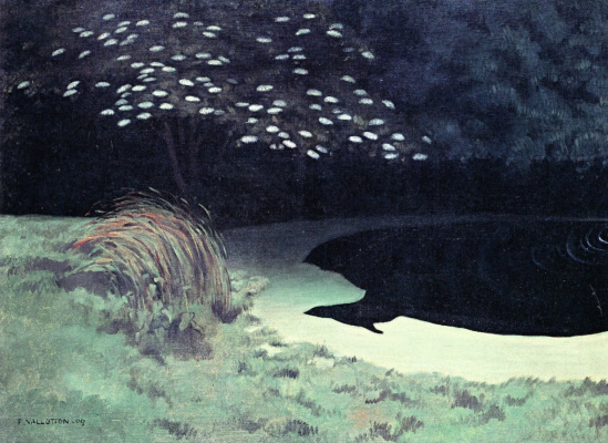 Felix Vallotton. Pond
