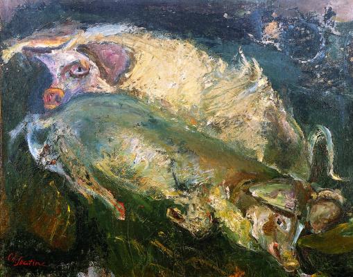 Хаим Соломонович Сутин. Свиньи