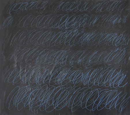 Sai Twombly. Untitled (new York, 1968)