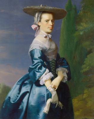 John Singleton Copley. Portrait of Sarah Allen, nee Sargent