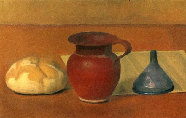 Леннарт Андерсон. Натюрморт с хлебом