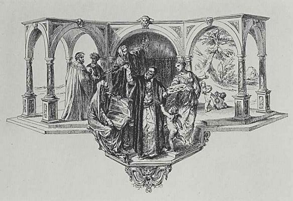 Adolf Friedrich Erdmann von Menzel. The Apotheosis Of Titian