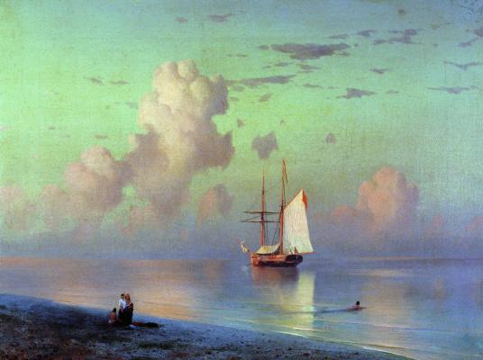 Ivan Aivazovsky. Sunset