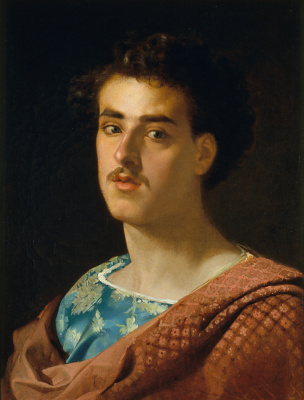 Mariano Fortuni-i-Carbo. Self-portrait