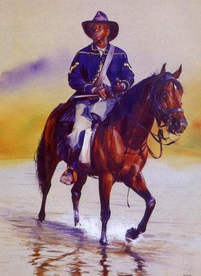Джон Фосетт. Солдат