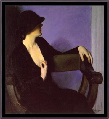 Берта Гутман. Женщина в черном