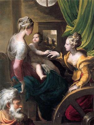 Francesco Parmigianino. St. Catherine
