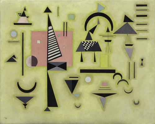 Wassily Kandinsky. Decisive pink