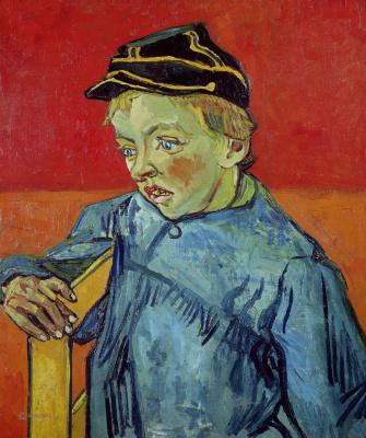 Vincent van Gogh. Student